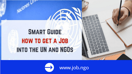 To Get A Job in the United Nations, UNDP or NGOs